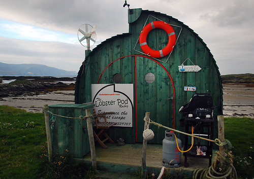 The Lobster Pod on Ardara Beach in Ireland