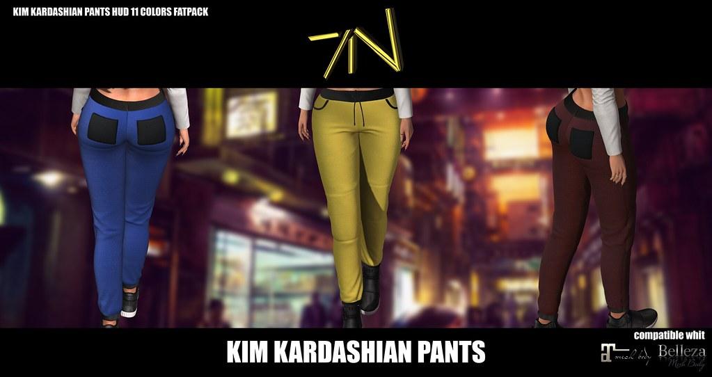 KIM KARDASHIAN PANTS - TeleportHub.com Live!