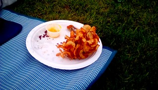 Curly fries  Waterfront Festival 2019 Menominee Michigan