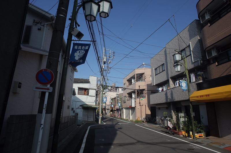 RICOH GRⅡ+ワイドコンバージョンレンズ21mm偽 東京いい道 志茂銀座 七溜商店会