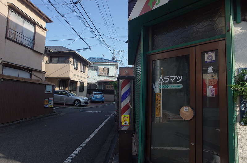 RICOH GRⅡ+ワイドコンバージョンレンズ21mm偽 東京いい道 志茂銀座 ムラマツ