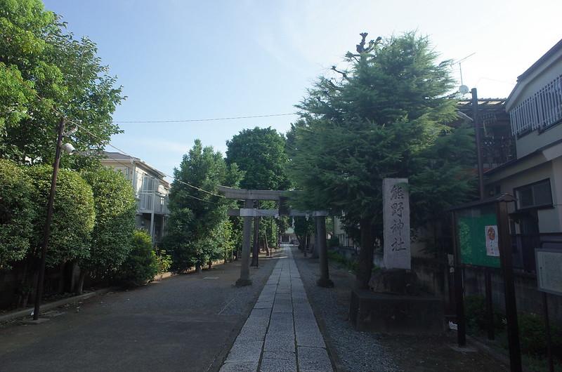 RICOH GRⅡ+ワイドコンバージョンレンズ21mm偽 東京いい道 志茂銀座 志茂熊野神社参道