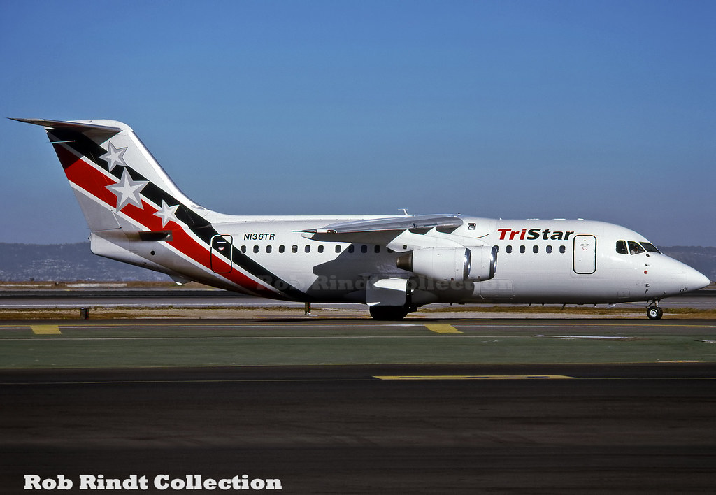 Tristar Airlines BAe-146-200A N136TR