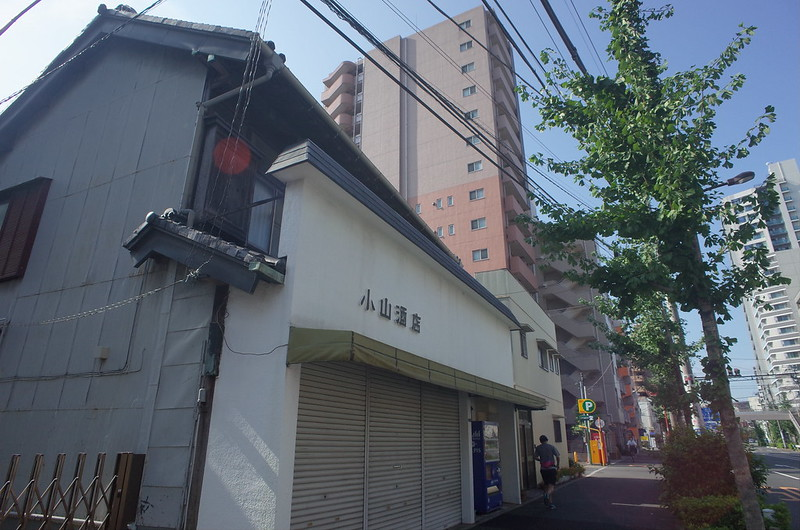 RICOH GRⅡ+ワイドコンバージョンレンズ21mm偽 東京いい道 志茂銀座 北本通り小山酒店
