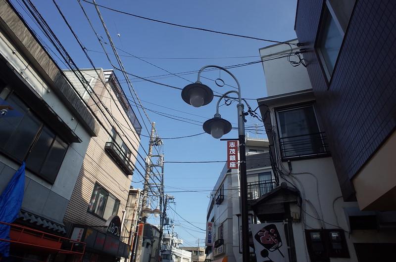 RICOH GRⅡ+ワイドコンバージョンレンズ21mm偽 東京いい道 志茂銀座 志茂銀座