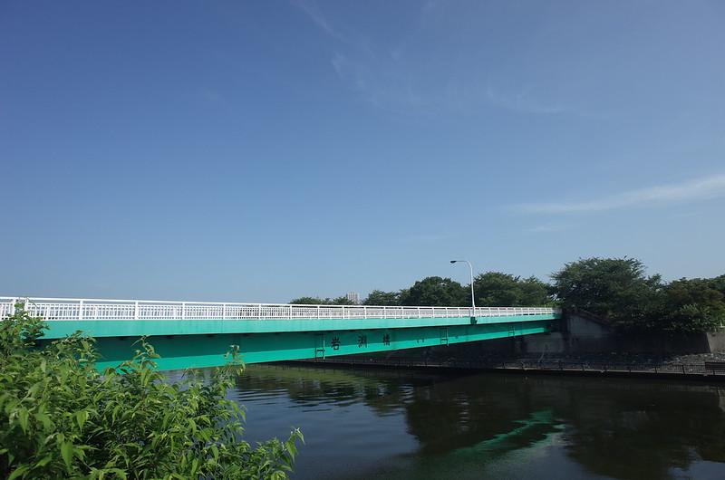 RICOH GRⅡ+ワイドコンバージョンレンズ21mm偽 東京いい道 志茂銀座 志茂旧道岩淵橋