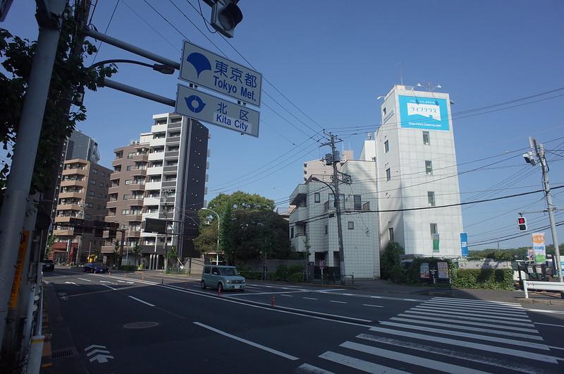 RICOH GRⅡ+ワイドコンバージョンレンズ21mm偽 東京いい道 志茂銀座 北本通り