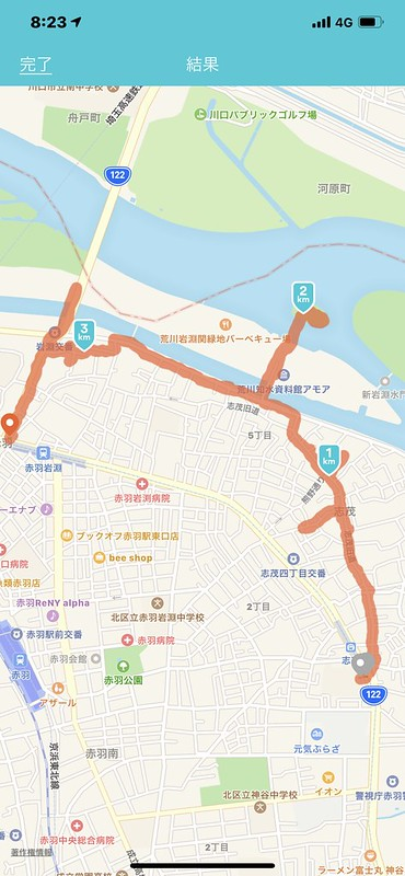 RICOH GRⅡ+ワイドコンバージョンレンズ21mm偽 東京いい道 志茂銀座 ルート