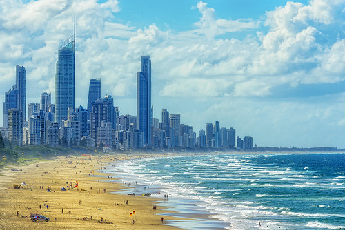 seascape landscape nikond800 goldcoast surfersparadisefromnorthburleigh surfersparadise cityscape skyline