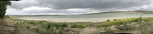 Saskatchewan Landing - panorama of the river