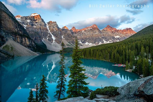 Moraine Lake Sunrise, Banff N.P., Canada