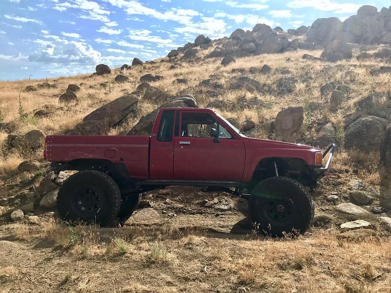 88 pickup xtra cab-- Cheery Bomb