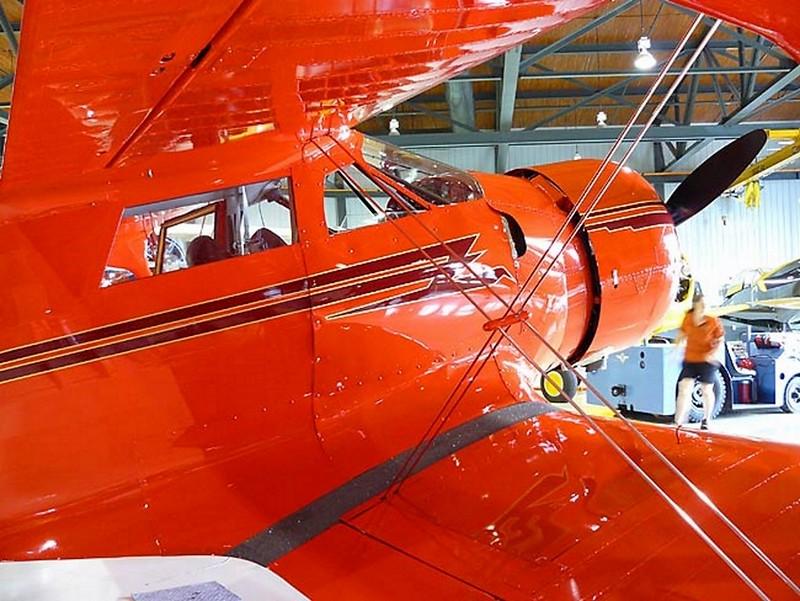Beechcraft Staggerwing D-17 2