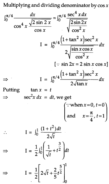 CBSE Previous Year Question Papers Class 12 Maths 2015 Outside Delhi 41