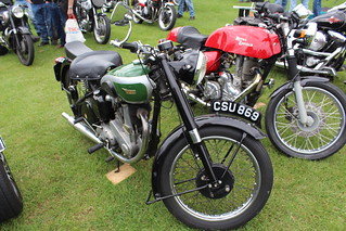 BSA 1951 B31 350cc CSU 869
