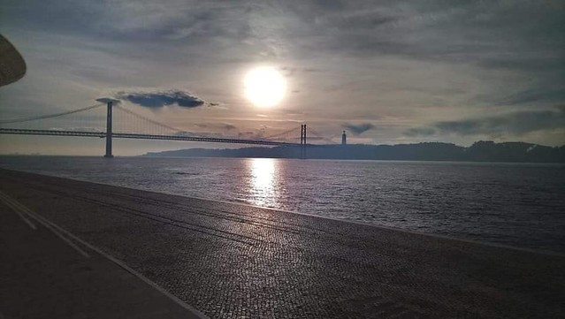 Sunrise on Lisbon