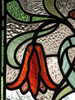 """Detail of the Art Nouveau Stained Glass Windows of the Drawing Room of """"The Gables"""" Queen Anne Villa - Finch Street, East Malvern"""