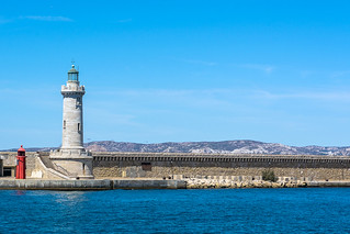 Lighthouse in Marseille