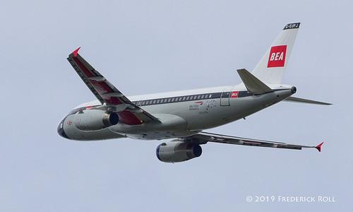British Airways A319 ~ G-EUPJ