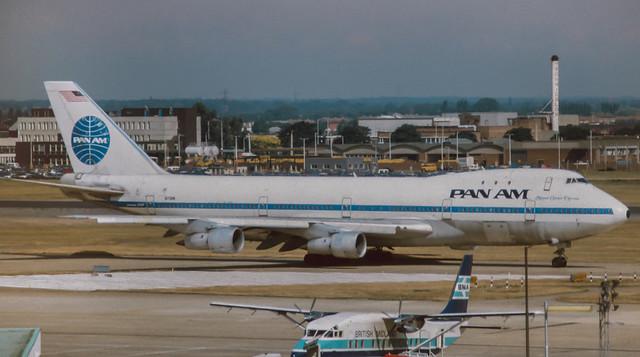 N731PA Pan Am  747-121