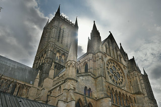 Lincoln Cathedral From the Cloister