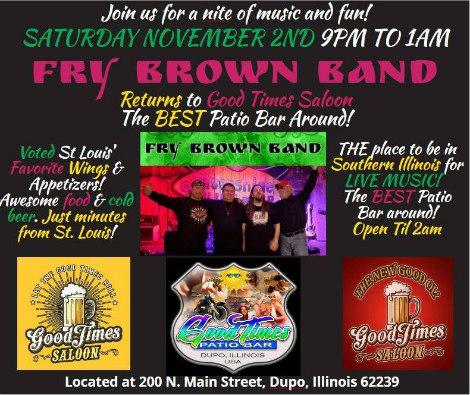Fry Brown Band 11-2-19