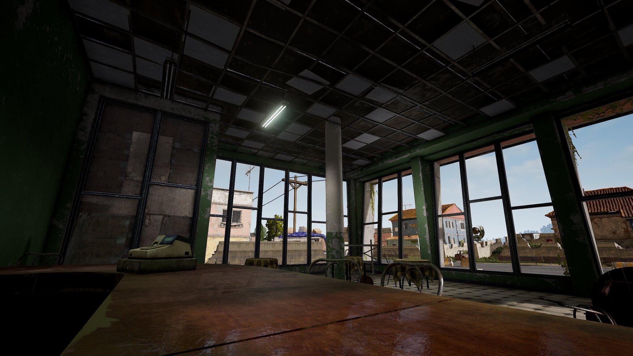 PUBG: Visual updated Erangel on PS4