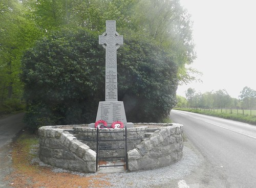 Knockbain War Memorial, near Munlochy, Black Isle, May 2019