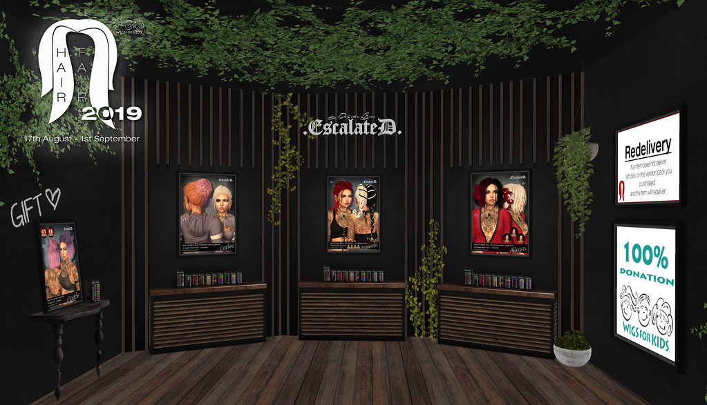 .EscalateD. | Hair Fair 2019 - TeleportHub.com Live!