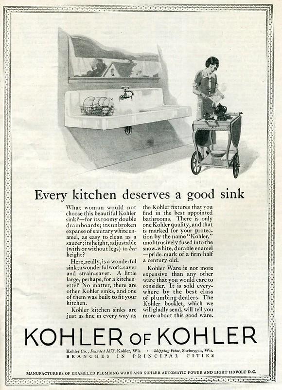 Kohler of Kohler 1922