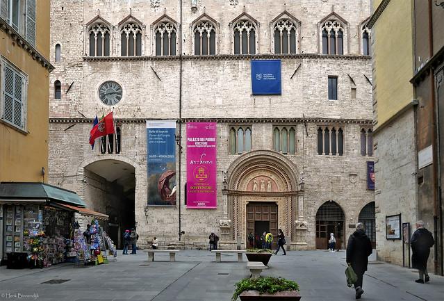 Umbria: Perugia, Palazzo dei Priori