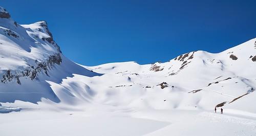 Bachalpsee under snow