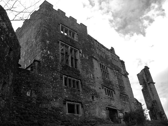 April 2010 Berry Pomeroy Castle