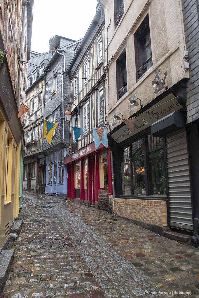 Honfleur, Normandia