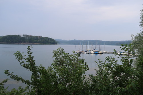 Ausblick auf den westlichen Teil des Möhnesees