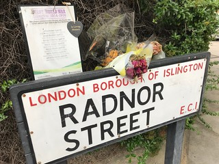 Radnor Street war memorial