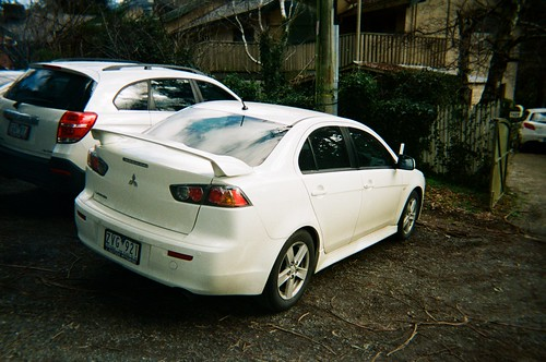 2013 Mitsubishi Lancer rear Photo