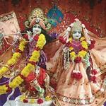 ISKCON Rajkot Deity Darshan 17 Aug 2019