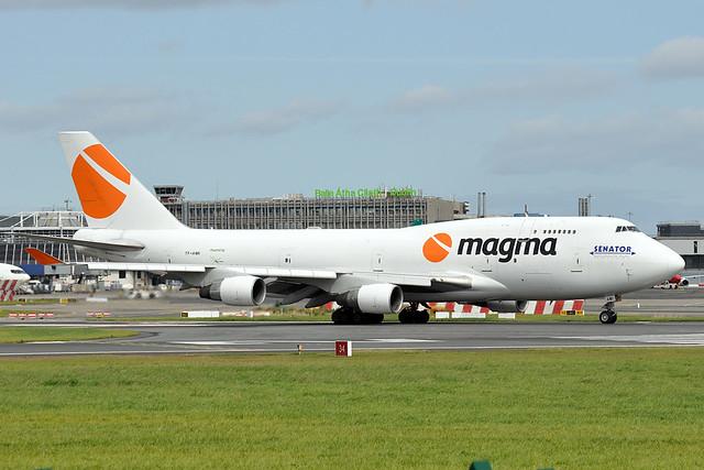 TF-AMI  B747-412(BDSF)  Air Atlanta Iceland (Magma)