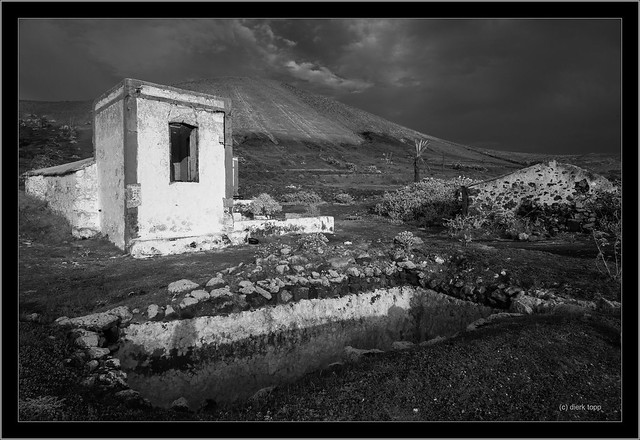 Lanzarote, Canary Islands, infrared
