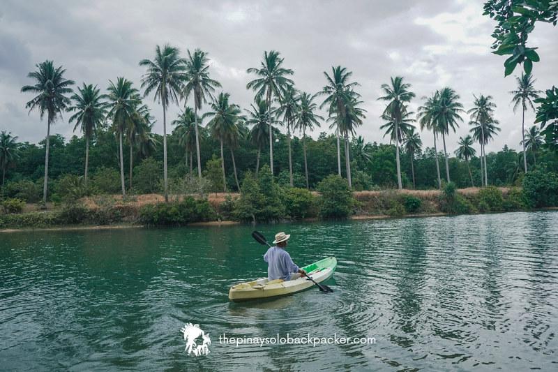 SAN VICENTE PALAWAN: INANDENG RIVER