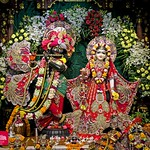 Hare Krishna Temple Ahmedabad Deity Darshan 17 Aug 2019