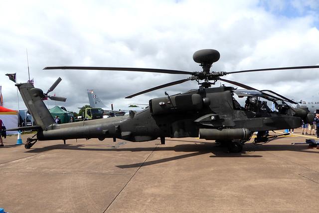 ZJ208 Westland Apache AH1 cn WAH.42 Army Air Corps RAF Fairford 20Jul19