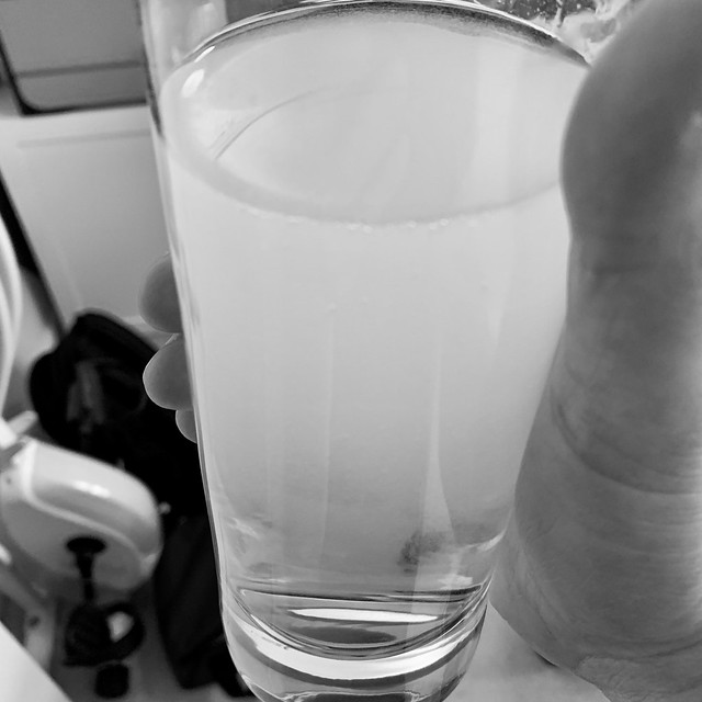 Cloudy tap water