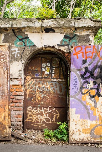 Doors Of Bucharest No. 6