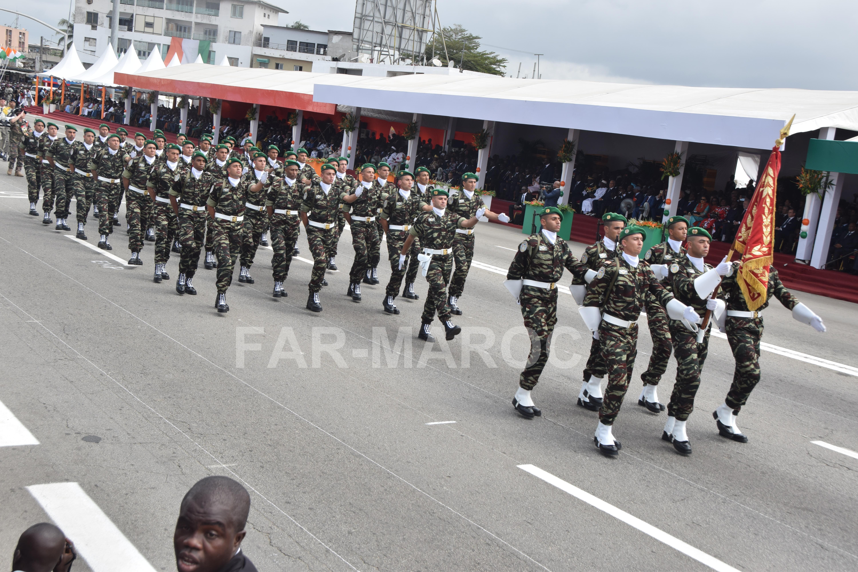 Participation des FAR au 59 ème anniversaire de l'indépendance de la Côte d'Ivoire 48557465561_00f2c09341_o