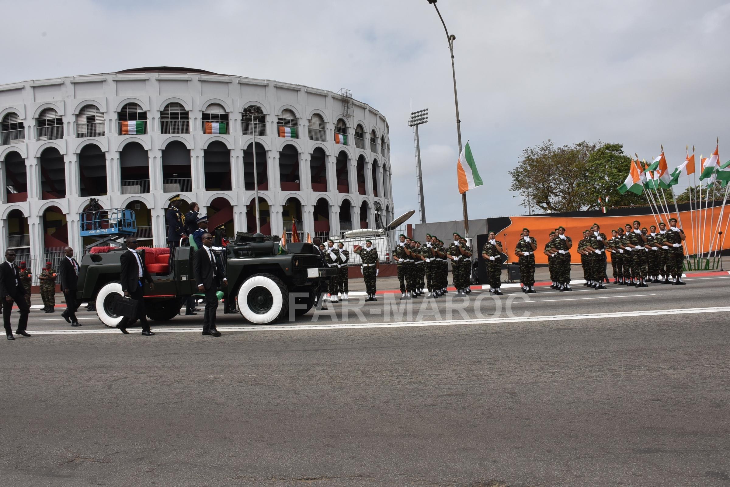 Participation des FAR au 59 ème anniversaire de l'indépendance de la Côte d'Ivoire 48557469716_142ce4772f_o