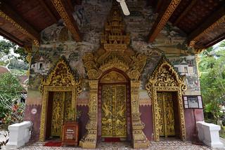 Wat Paphaimisaiyaram glorious portico decoration