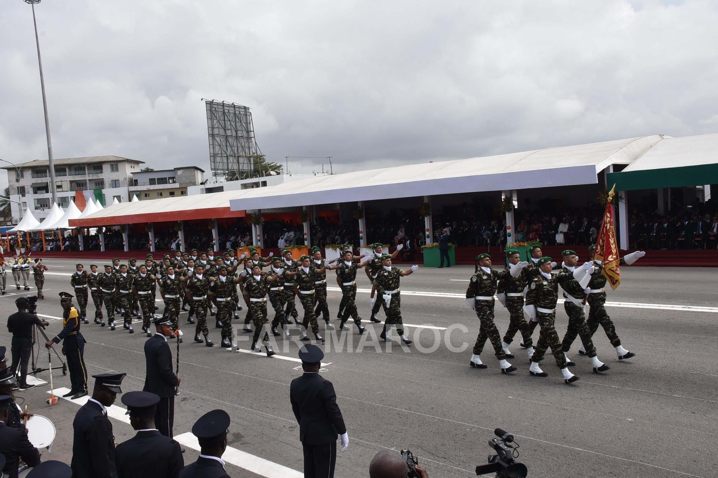 Participation des FAR au 59 ème anniversaire de l'indépendance de la Côte d'Ivoire 48557604447_3f88b10207_o