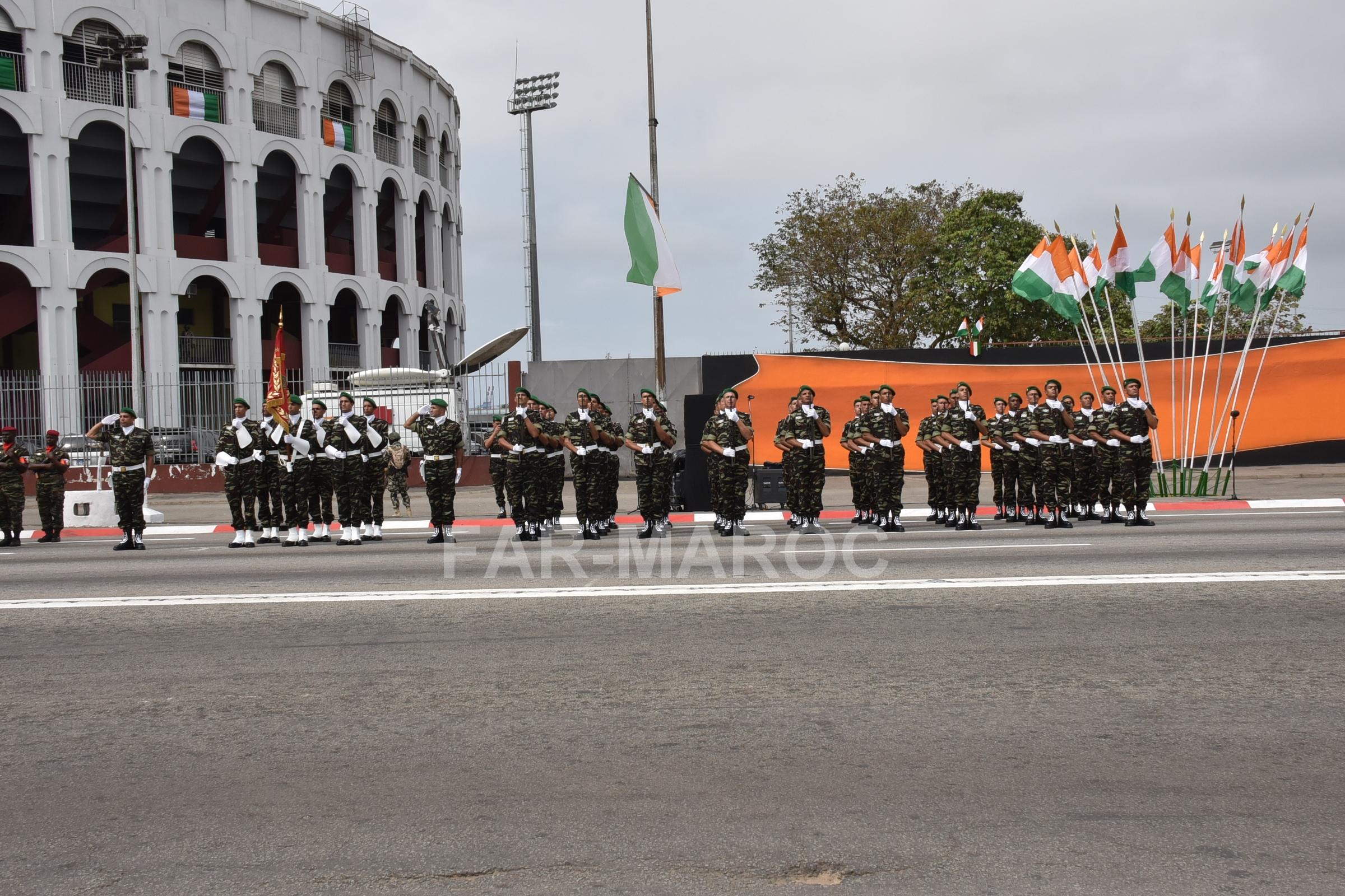 Participation des FAR au 59 ème anniversaire de l'indépendance de la Côte d'Ivoire 48557610682_6c615e049e_o